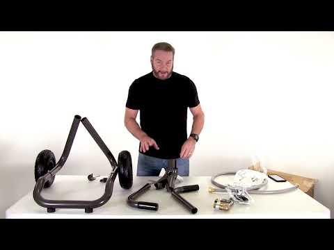ELEY Model 1043 - Portable Hose Reel Cart (Full Assembly)