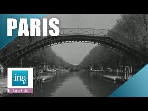 Le canal Saint-Martin deviendra une autoroute | Archive INA