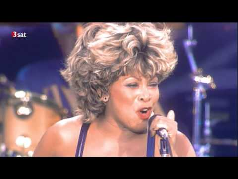 Tina Turner live in Wembley