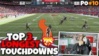 Breaking My Longest Touchdown Record 3x in One Game!! Madden 19 Packed Out