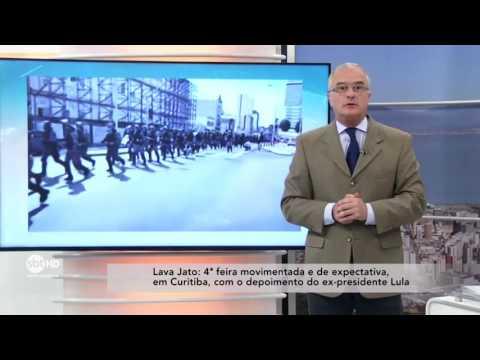 Quarta-feira movimentada em Curitiba, com depoimento do ex-presidente Lula