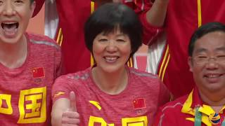 China Team (Rio 2016 - Olympic volleyball Highlights)