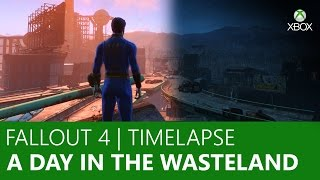 Fallout 4 Timelapse - A Day in the Wasteland | Xbox On