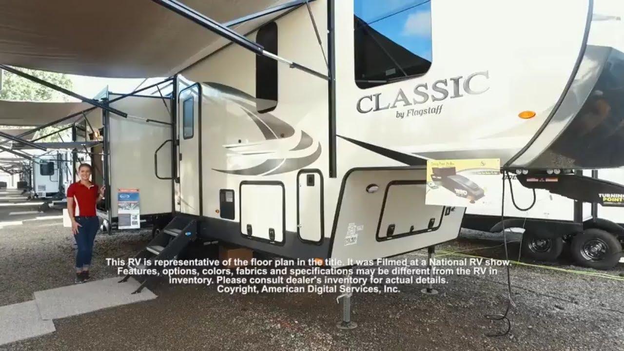 New 2019 Forest River RV Flagstaff Classic Super Lite 8529RKBS Fifth