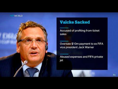 Jerome Valcke sacked as FIFA General Secretary