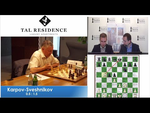 A.Karpov vs E.Sveshnikov - Game 3