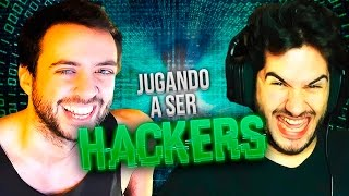 Playing to be HACKERS with Jordi Wild (Resubmitted with new scenes)