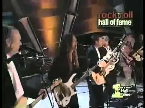 Eagles   Hotel California  at 1998 Hall of Fame Inducti 360p
