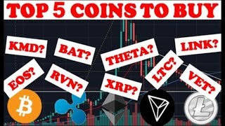 TOP 5 COINS TO BUY IN JULY! - Best Cryptocurrencies to Invest in 2020