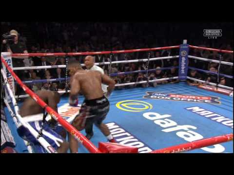 anthony joshua vs kevin johnson 30th may