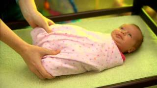 Repeat youtube video How to Hip-Healthy Swaddle your Baby - IHDI