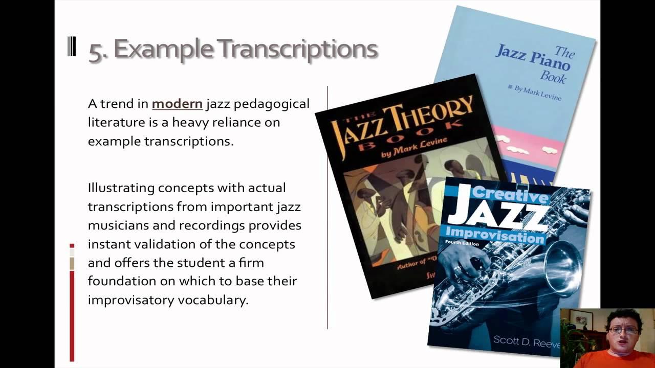 PDF) Literature Review of Jazz Improvisation Pedagogy