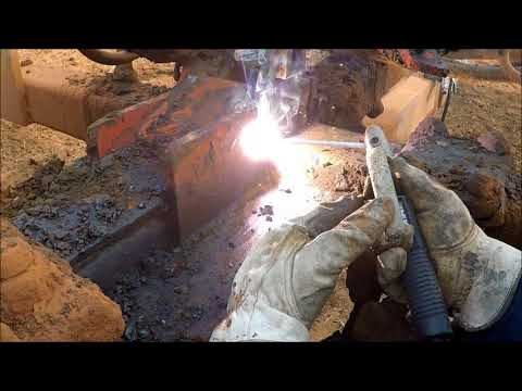 Welding on Chisel plow