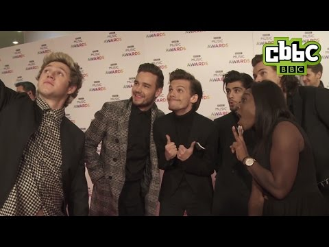 One Direction Interview at BBC Music Awards - CBBC Newsround