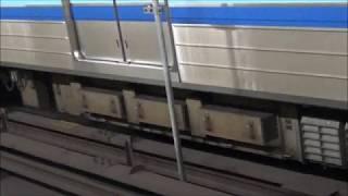 横浜市営地下鉄ブルーライン3000A形 3000R型VVVF発着発車