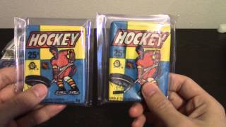 Firehouse Cards - 1983-84 O-Pee-Chee Hockey Wax Pack Break. (Vintage Break 4)