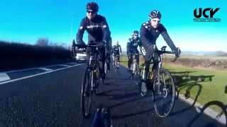 UCY Sunday Club Ride to Llantwit Major 18th January 2015