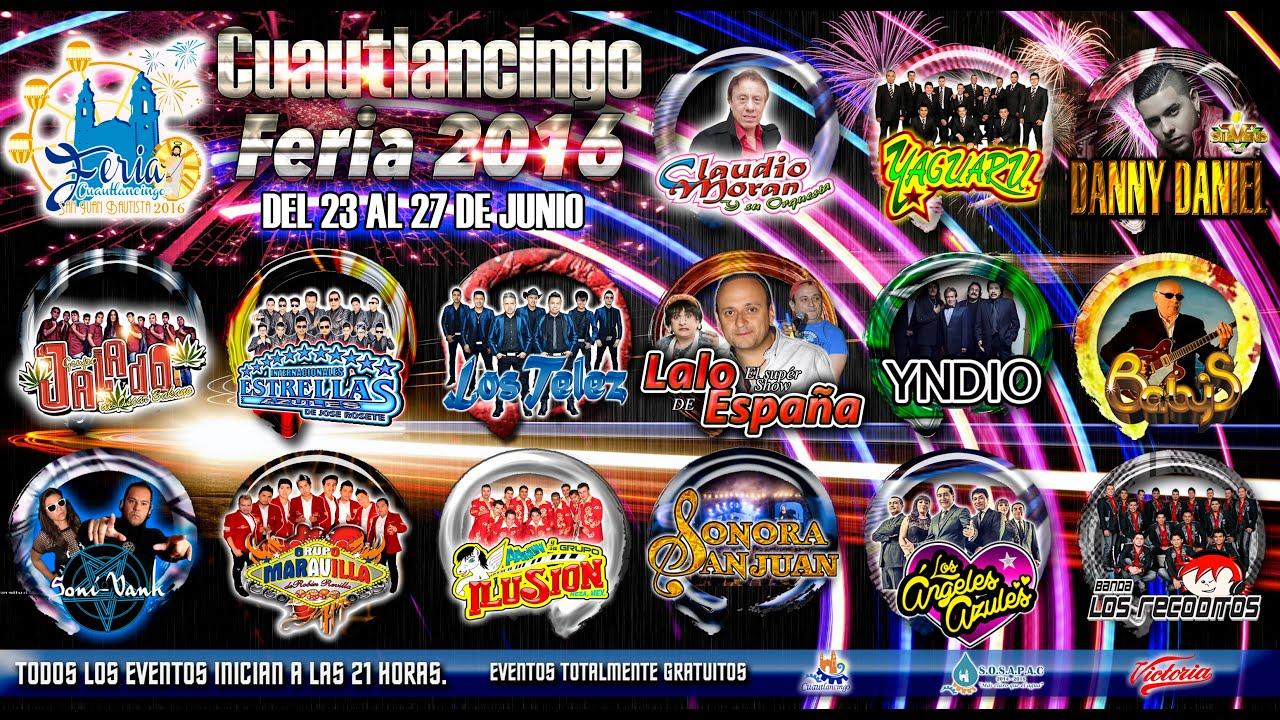 Promo feria cuautlancingo 2016 san juan bautista youtube for Feria de artesanias cordoba 2016