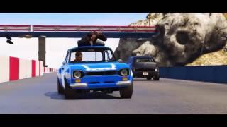 Video Grand Theft Auto V - Fast & Furious 6 - Tank Scene full HD Animation download MP3, 3GP, MP4, WEBM, AVI, FLV September 2017