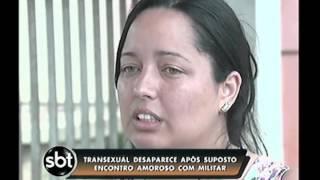 Transexual desaparece após encontro com oficial da aeronáutica