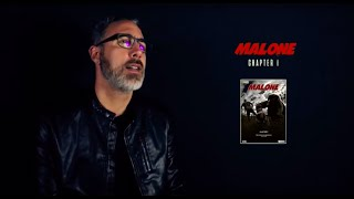 Interview Luis Azemar pour Malone Comic book
