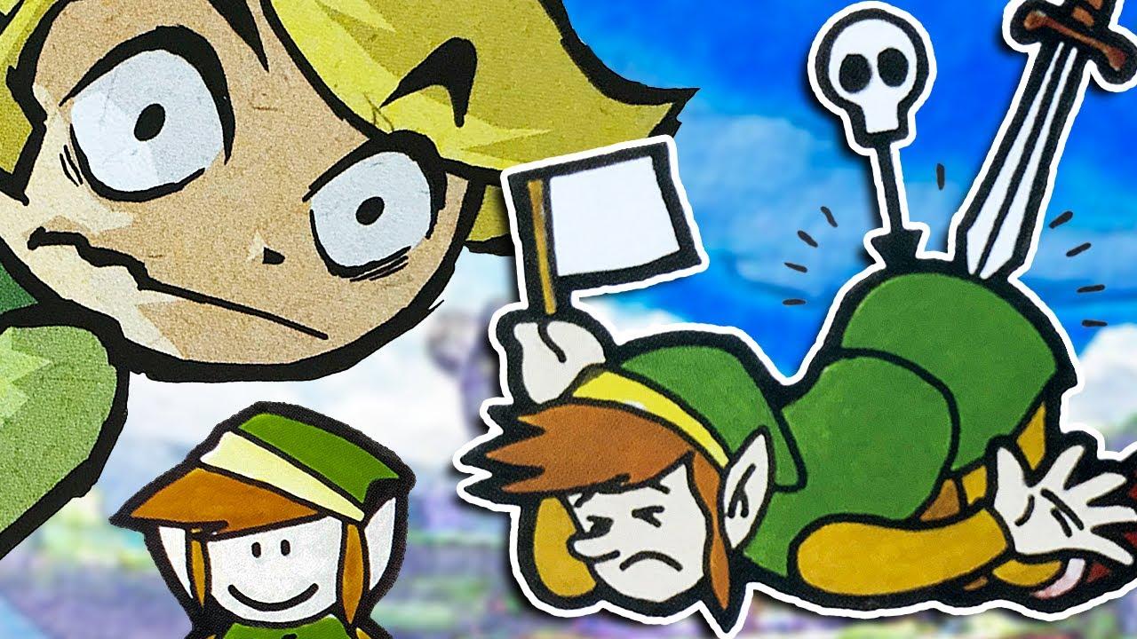 Weird and CURSED Official Legend of Zelda Art