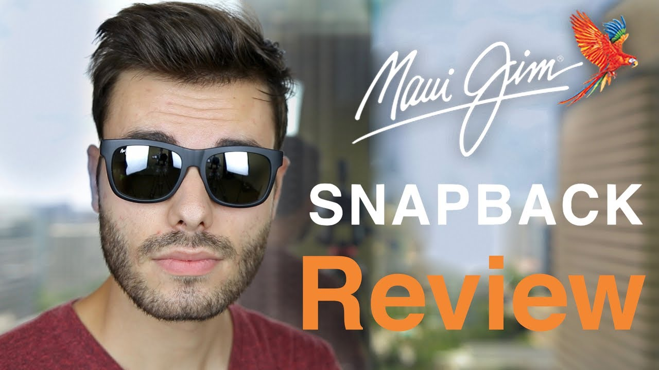 Maui Jim Snapback Review Youtube