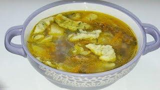 ВКУСНЫЙ СУП С КЛЕЦКАМИ!Суп с галушками пошаговый рецепт.
