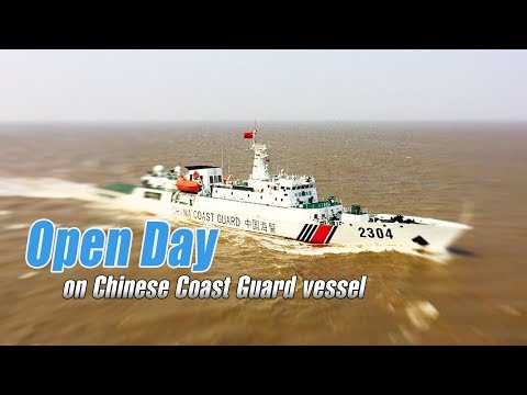 Live: Open Day on Chinese Coast Guard vessel中国海警2304舰:看海警官兵如何舰上过节