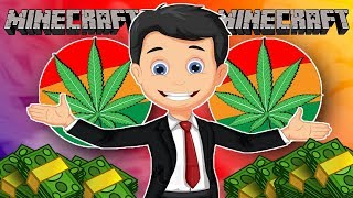 OWNING MY OWN WEED DISPENSARY!! (Trolling On Minecraft)