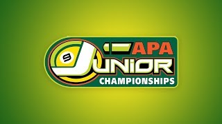 Junior National Championships - White Tier Finals - Pool Tournament - APA