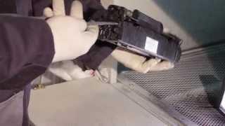 видео заправка картриджей киев