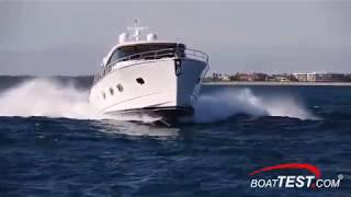Riviera Belize 66 Sedan (2019-) Test Video - By BoatTEST.com