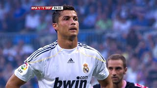 Cristiano Ronaldo Official Debut for Real Madrid