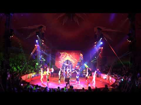 Philip Astley opening from Gandeys Circus 2016