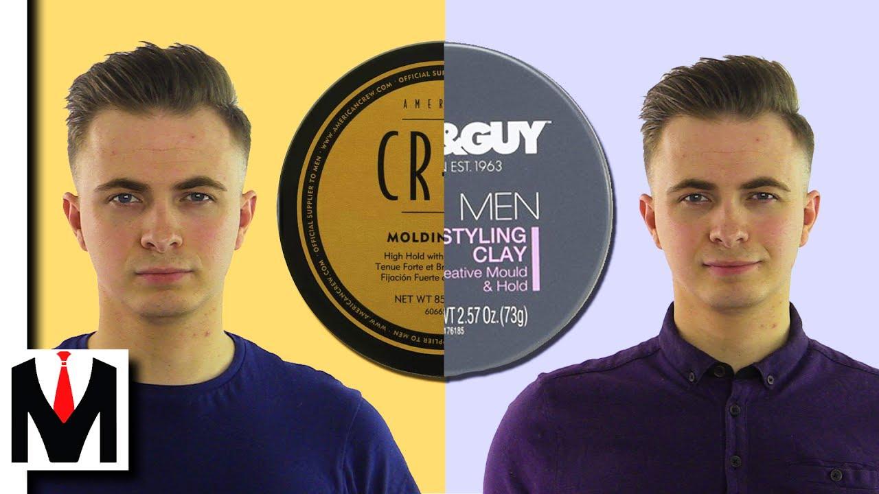American Crew Classic Molding Clay - Глина для укладки волос - YouTube