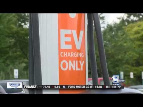 RIT on TV: New charging stations are up and running at RIT - WROC