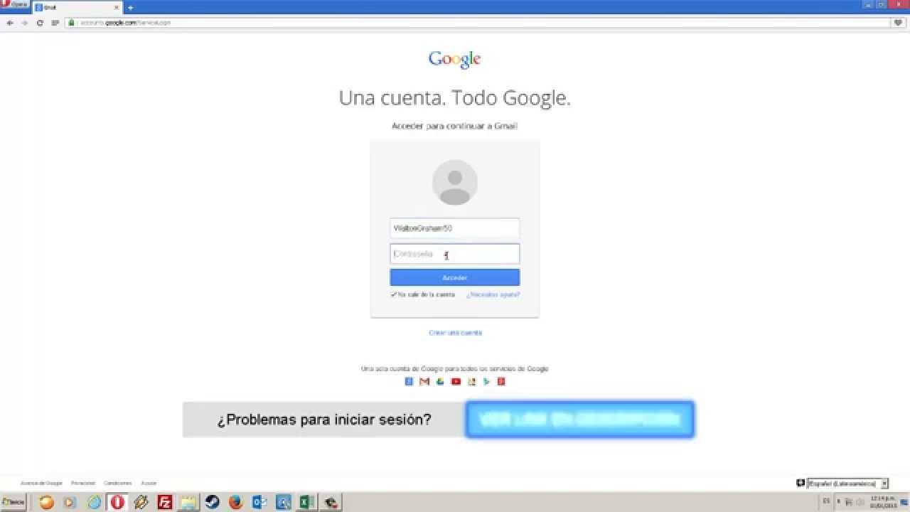 Gmail Iniciar Sesion Seonegativo