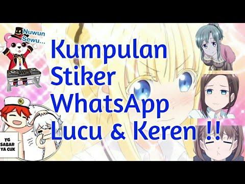 Kumpulan Stiker Whatsapp Lucu Dan Keren 2 Anonepoi Tutorial