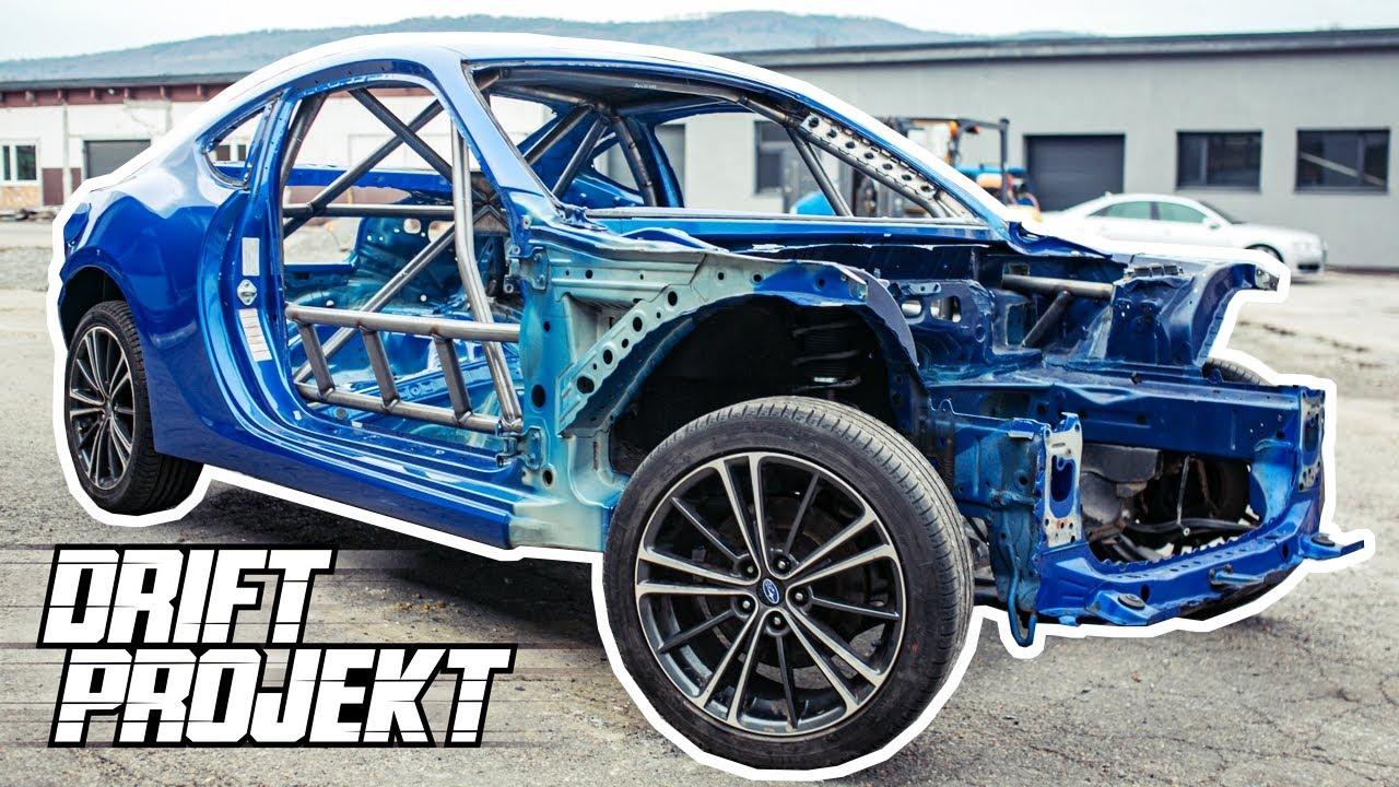 Klatka Bezpieczeństwa - Drift Projekt - Subaru BRZ #3 ...