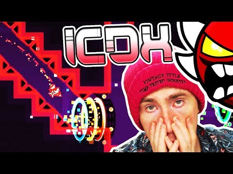 Geometry Dash ICE CARBON DIABLO X 66% (Stream Highlights)