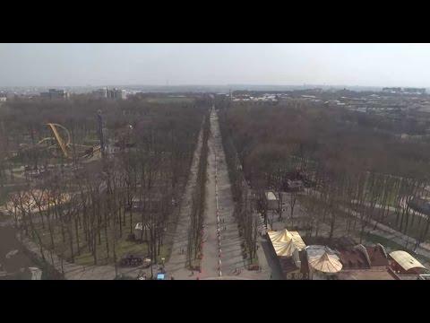 Парк Горького Харьков, вид с колеса обозрения 09.04.2016