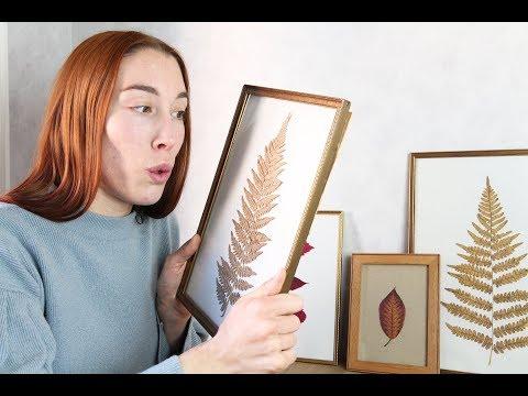 ART BY NATURE: Gör vackra tavlor till nya lägenheten