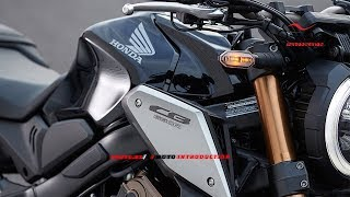 Detail 2019 Honda CB650R SportBike 4-cylinder 649cc | New Honda CB650R model 2019 Official