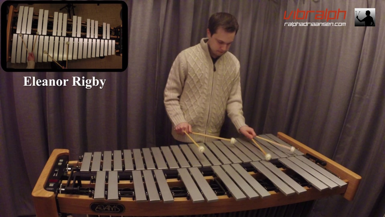 Eleanor Rigby / The Beatles for vibraphone