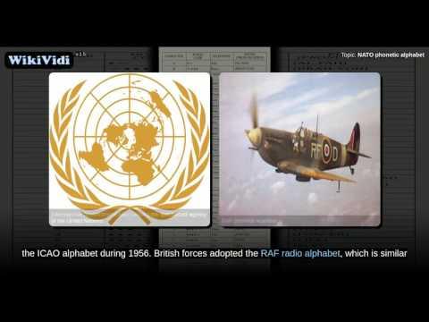 NATO phonetic alphabet - WikiVidi Documentary