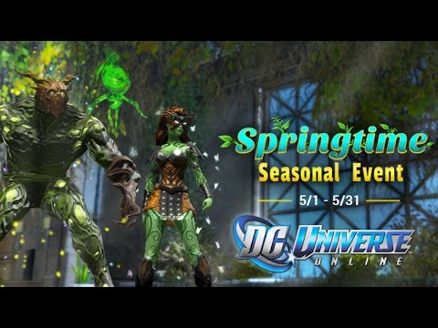 DCUO Spring Time Seasonal Event 2017
