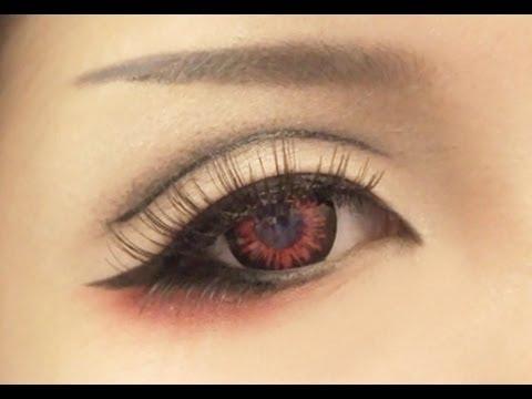 Tutorial Anime Eye Makeup 1 Youtube
