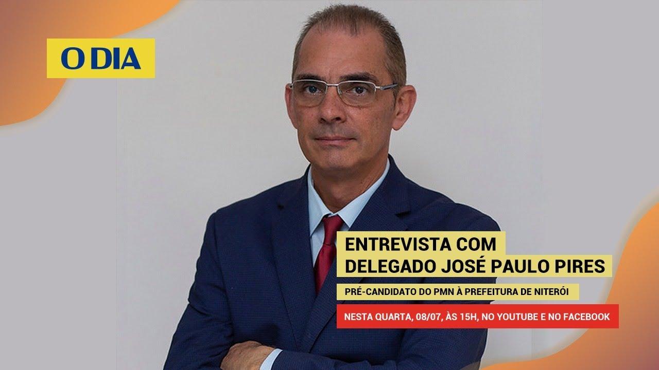 Eleições 2020 - Niterói: Delegado José Paulo Pires