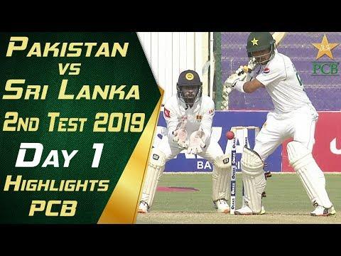 Pakistan Vs Sri Lanka 2019 | Full Highlights Day 1 | 2nd Test Match | PCB